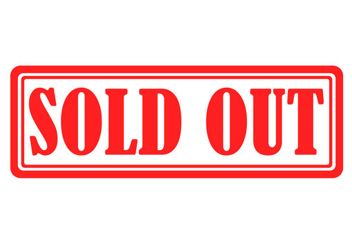 sold out banner information for your sale