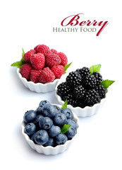 Sweet berries mix.