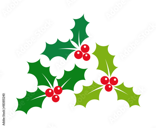 Christmas Holly Clipart Free.Christmas Holly Berries Mistletoe Stock Image And Royalty