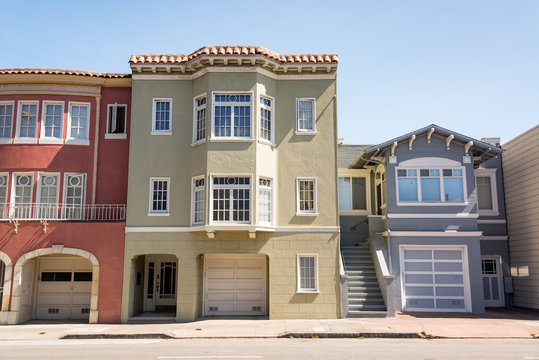 Townhouses in San Francisco