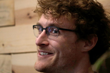 Paddy Cosgrave, co-founder of Web Summit, attends an interview with Reuters in Lisbon