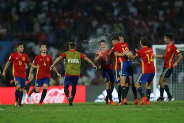 Soccer Football – Mali vs Spain - FIFA U-17 World Cup Semi-Final