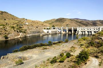 Pocinho Dam on Douro River