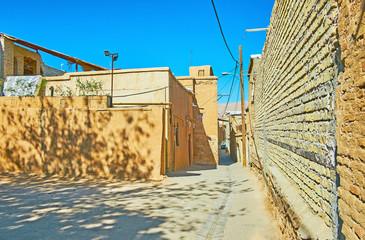 Housing of old Shiraz, Iran