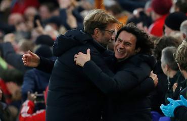 Premier League - Liverpool vs Huddersfield Town