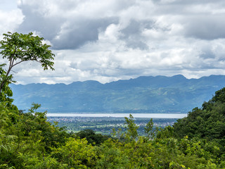 First view on Inle Lake