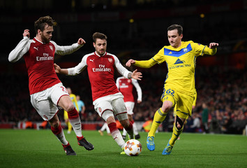 Europa League - Arsenal vs BATE Borisov