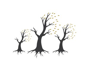 tree logo template  icon