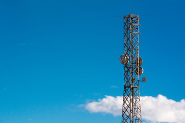 Telecommunication Tower for Digital Signal