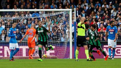 Serie A - S.S.C. Napoli vs U.S. Sassuolo Calcio