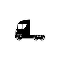 Truck without a trailer icon. Transport elements. Premium quality graphic design icon. Simple icon for websites, web design, mobile app, info graphics