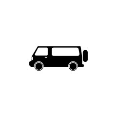 Minivan icon. Transport elements. Premium quality graphic design icon. Simple icon for websites, web design, mobile app, info graphics