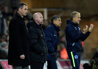 Premier League - Swansea City vs Brighton & Hove Albion