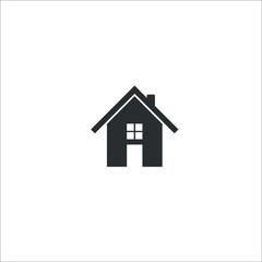 Home icon. Vector Illustration