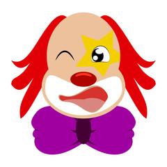 Funny cute Clown