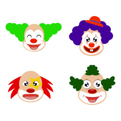 Funny cute Clown