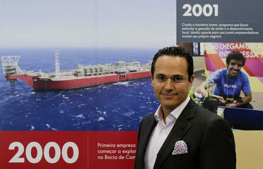Sawan, Executive Vice President for Shell's deepwater division, poses for a picture during an oil conference in Rio de Janeiro