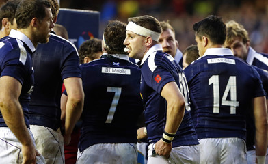 Scotland's Finn Russell faces conversion after his side conceded late try