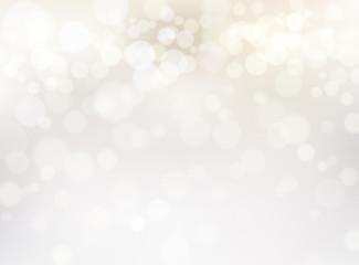 ホワイトゴールドの輝き抽象背景