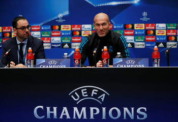 Champions League - Real Madrid Press Conference