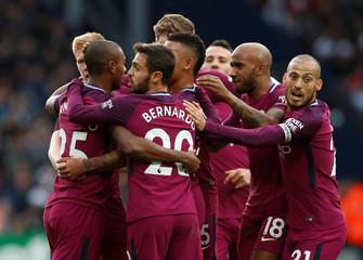 Premier League - West Bromwich Albion vs Manchester City