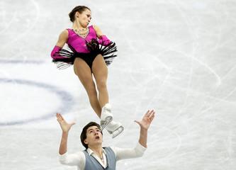 Figure Ice Skating - ISU Grand Prix of Figure Skating Final - Junior Pairs Free Skating