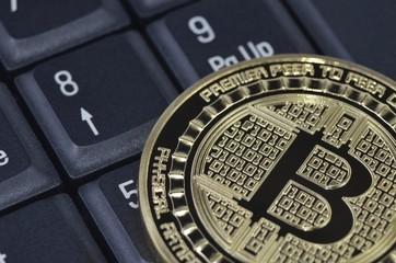 Bitcoin coin virtual cryptocurrency