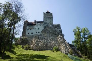 Bran Castle also know as Dracula's Castle at Brasov, Transylvania, Romania.