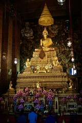 The Buddha in the church pay homage.
