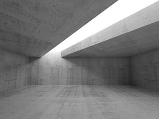 Tło 3D beton - minimalizm architektury