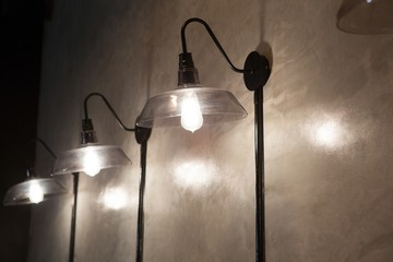 Close-up illuminated lamps