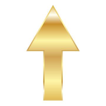 vector illustration of Golden Arrow