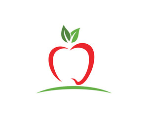 Apple vector illustration design icon
