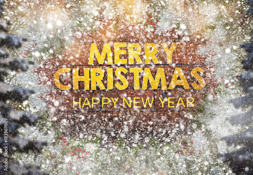 Yılbaşı Tebrik Kartı Yeni Yıl Arka Plan Noel Stock Photo And