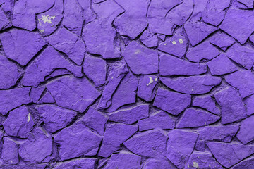 texture of a big stone in the main color of 2018, ultra violet pantone