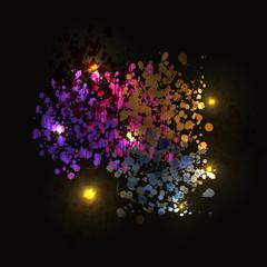 Vector illustration of Background color