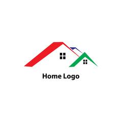 Home Logo Vector Template Design