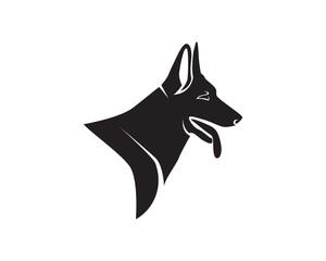 Dog animals logo and symbols pet