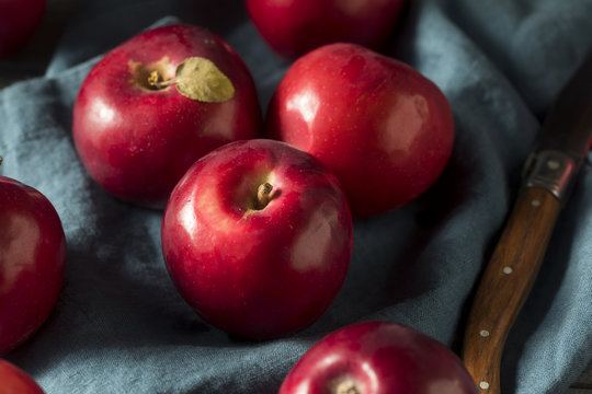 Red Organic Macintosh Apples