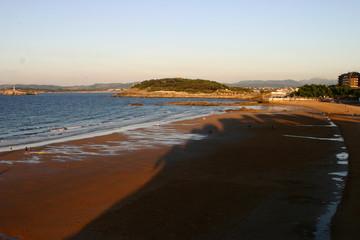 Santander, ciudad y capital de Cantabria (España) Zona costa de El Sardinero