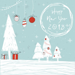 Christmas wishes for holiday greeting cards, invitations, banners. Hand drawn lettering