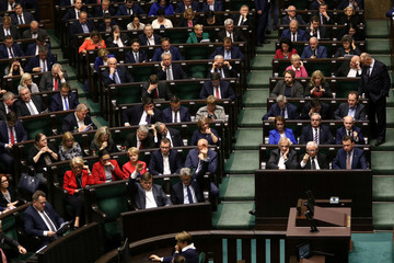 Parliament session in Warsaw