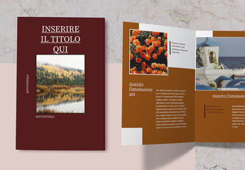 Layout brochure classica