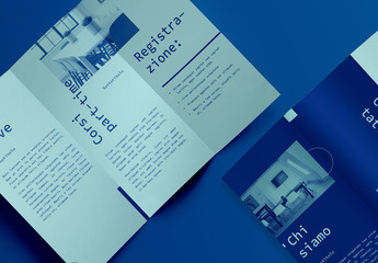 Layout brochure di corso