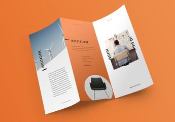 Layout brochure pop