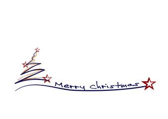 Tannenbaum Weihnachtskarte Weihnachten