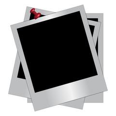 Vector illustration of Photo frame