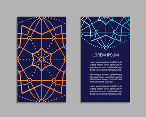 Sacred geometry flyer