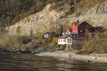 House in the fjord