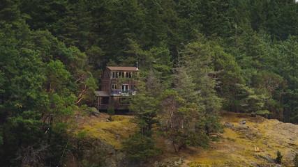 houses on Fidalgo island,washington state
